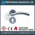 BS EN Grade 3&Grade 4 tube door handle DDTH008