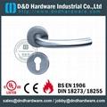 s/steel tube door handle DDTH004