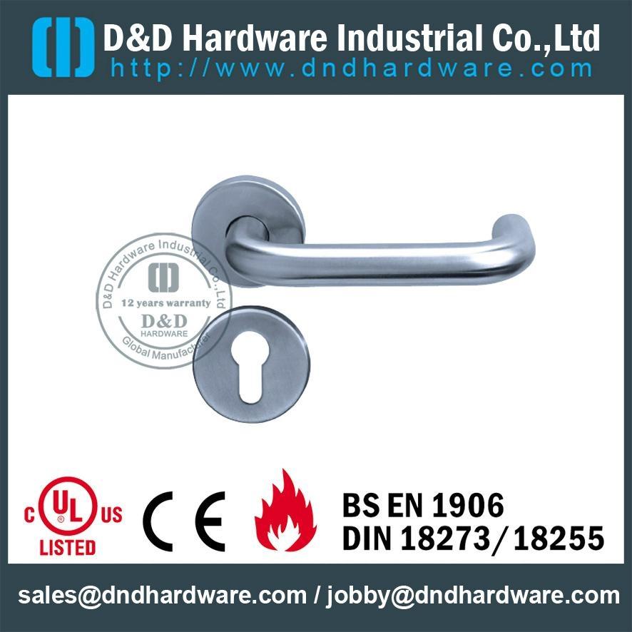 stainless steel lever tube handle DDTH001