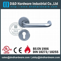 stainless steel lever tube handle DDTH001