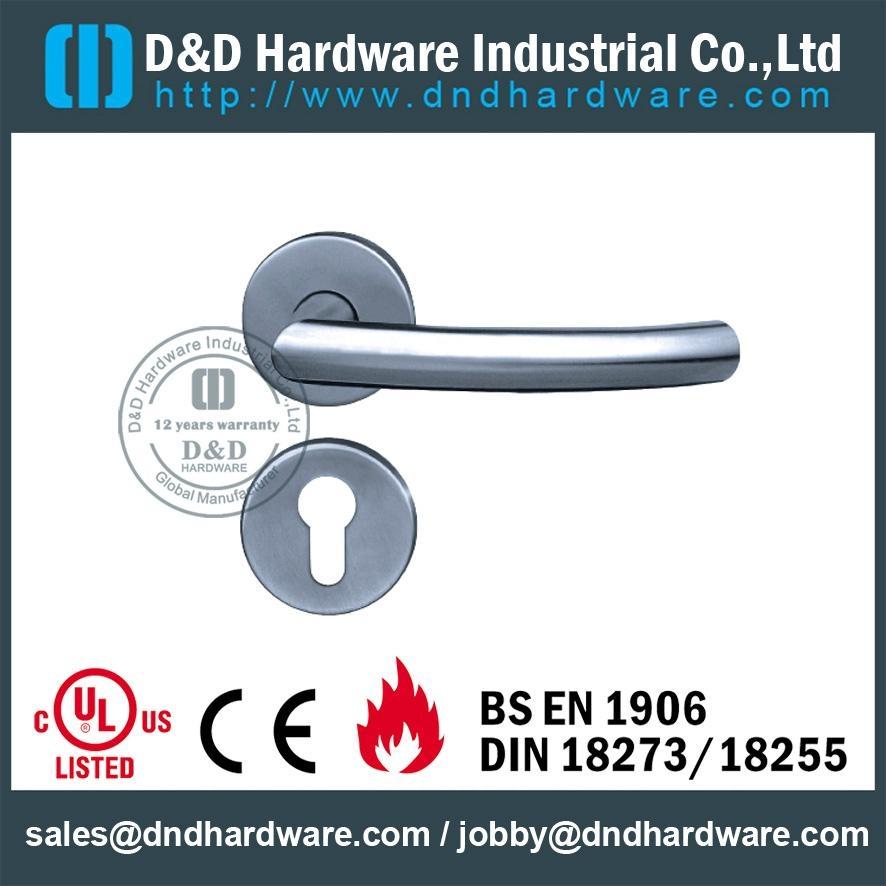 stainless steel tube door handle DDTH011