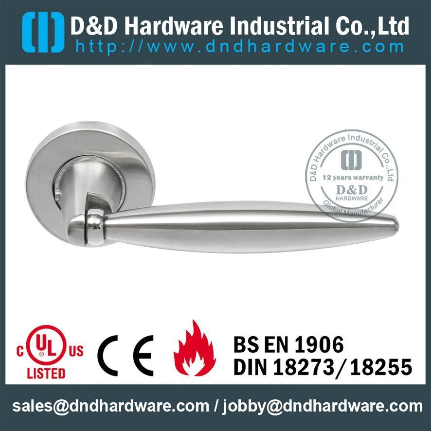 s/steel solid handle