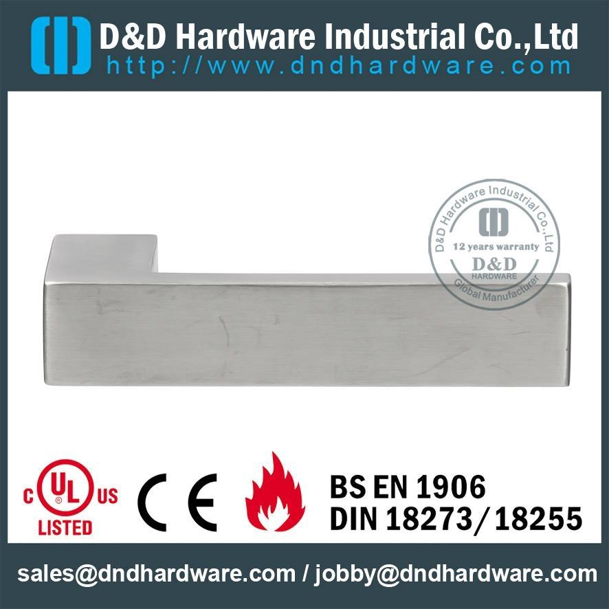 s/steel solid door handle