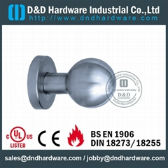 s/steel handle with knob