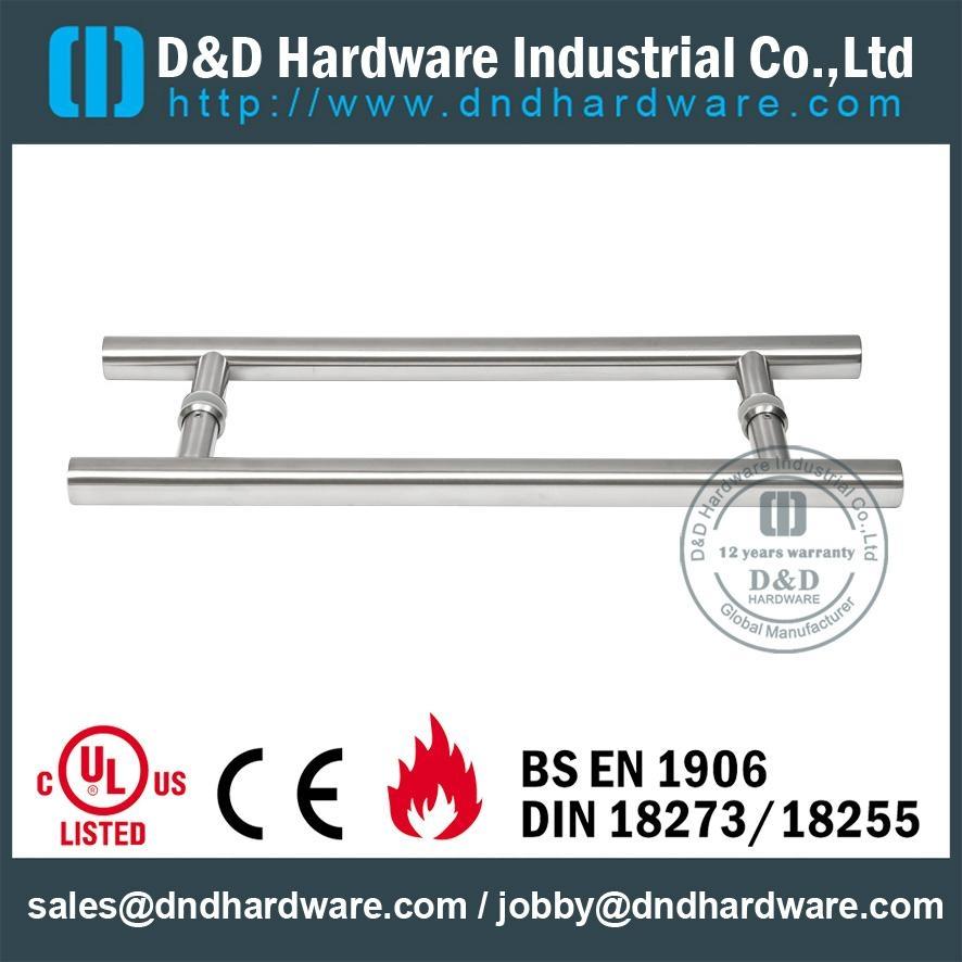 s/steel pull handle BS EN 1906 Grade 3& Grade 4