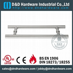 stainless steel pull handle UL CE certificate door handle