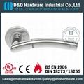 s/steel lever tube door handle