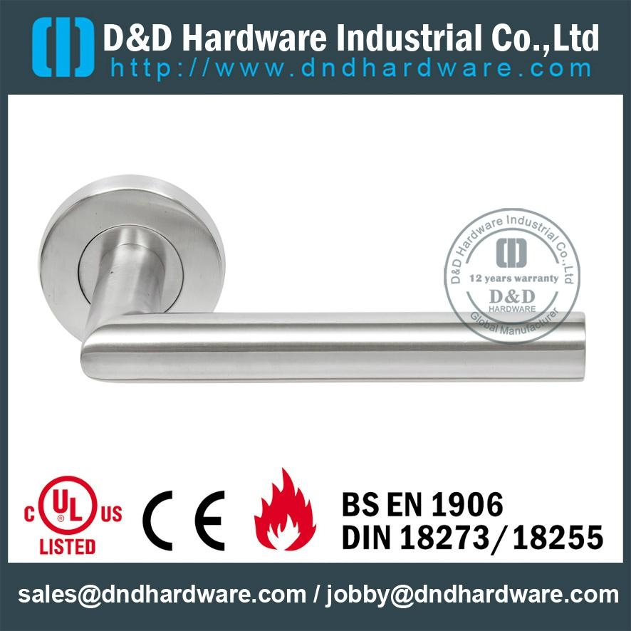 Stainless steel door handle UL listed Certification
