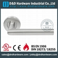 Stainless steel door handle UL listed
