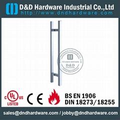 BS EN 1906 Grade3 & Grade 4 Stainless steel pull handle