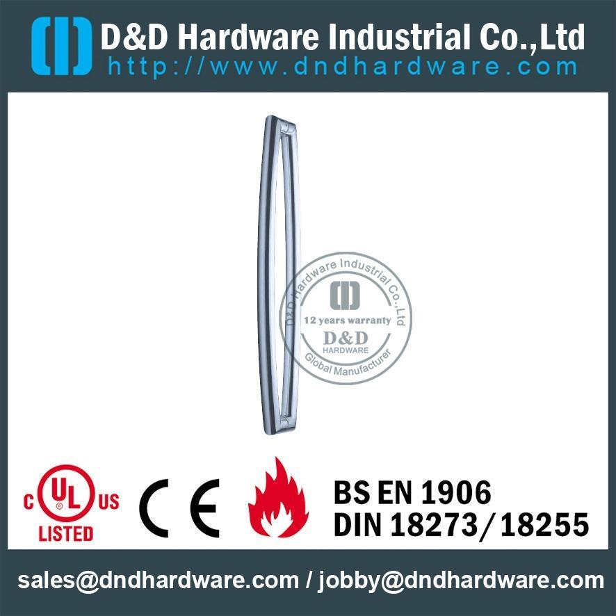 s/steel glass door pull handle