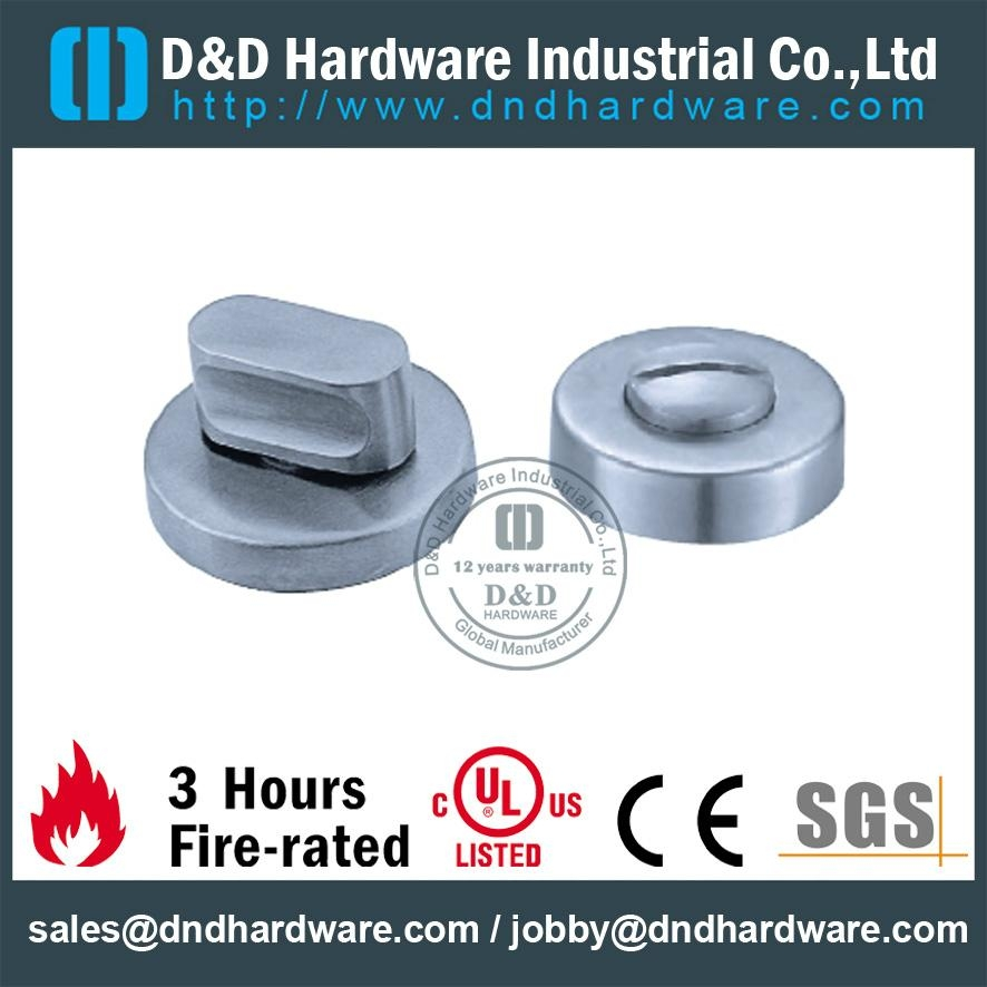 s/steel thumb turn with indicator