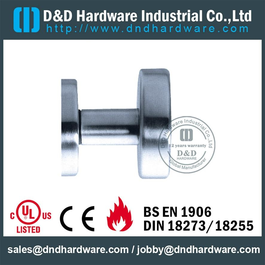 UL Certificate handle with knob