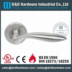 s/steel lever solid handle