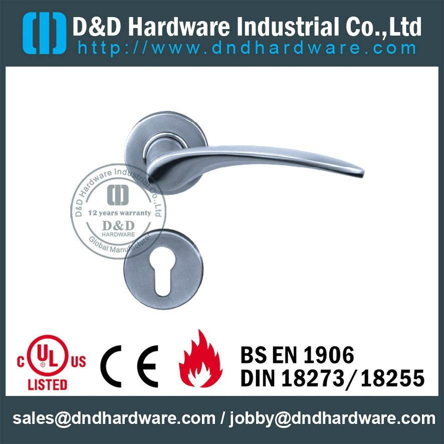 DDSH001 ss lever solid handle