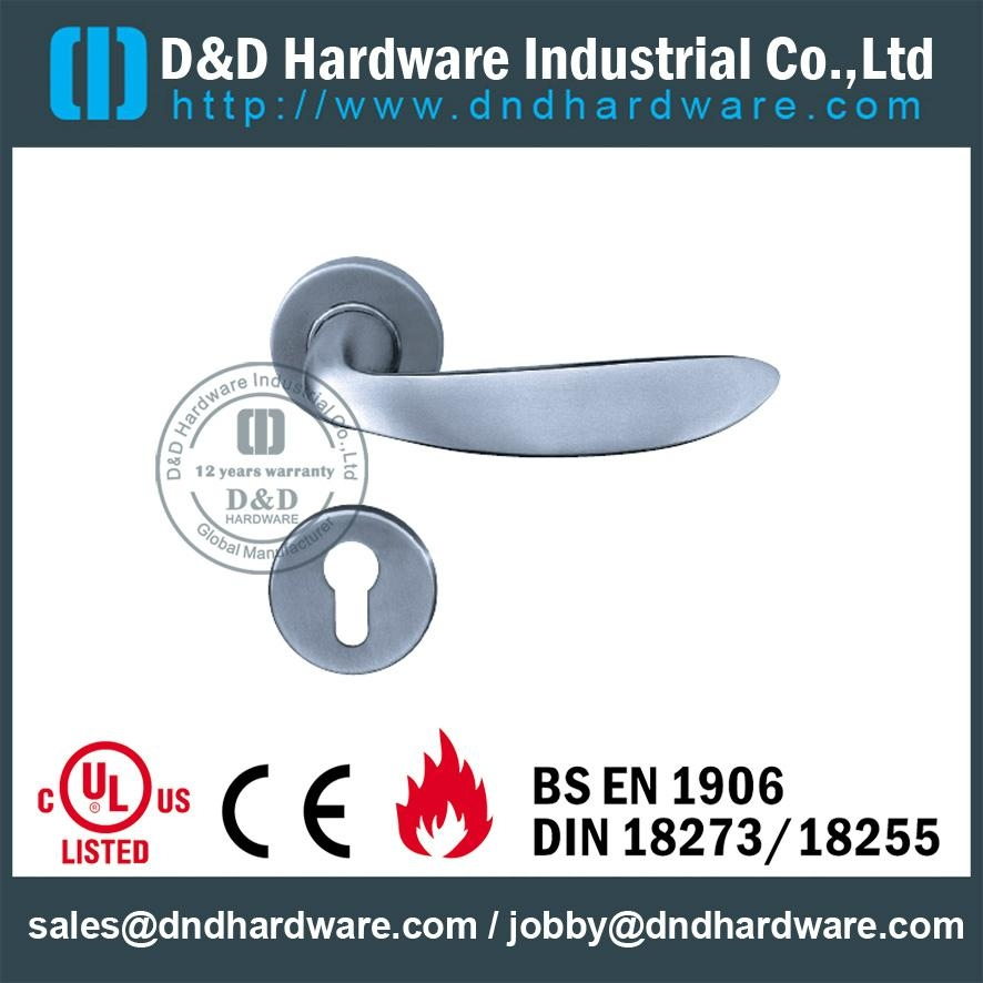 DDSH019 stainless steel door handle UL certificate
