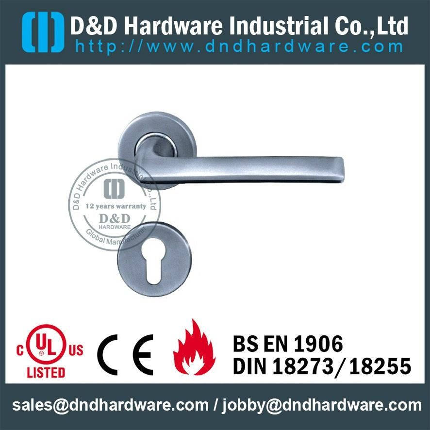 DDSH016 stainless steel lever solid handle BHMA CERTIFICATE