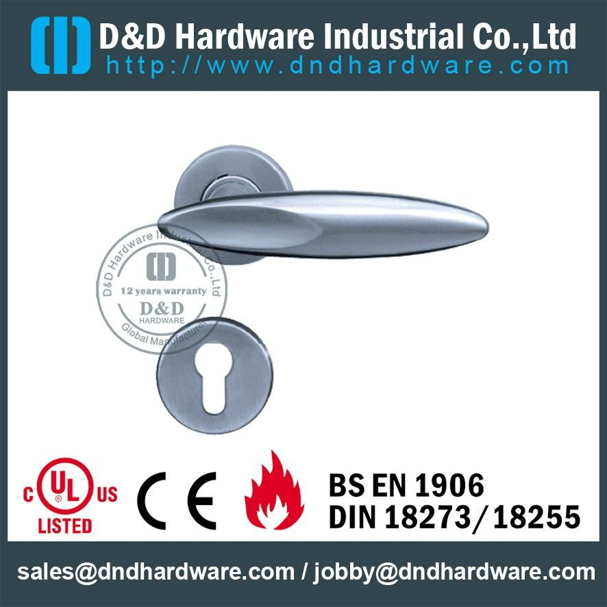 DDSH020 s/steel lever solid handle ANSI standard