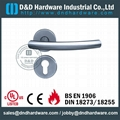 stainless steel door handle brass lever handle UL Certificate