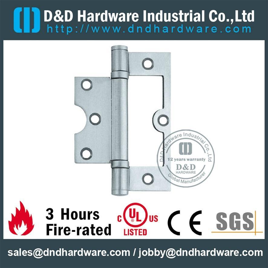 Stainless Steel Flush Hinge ANSI hinges CE UL file number R38013