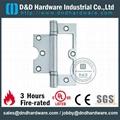 s/steel flush hinge