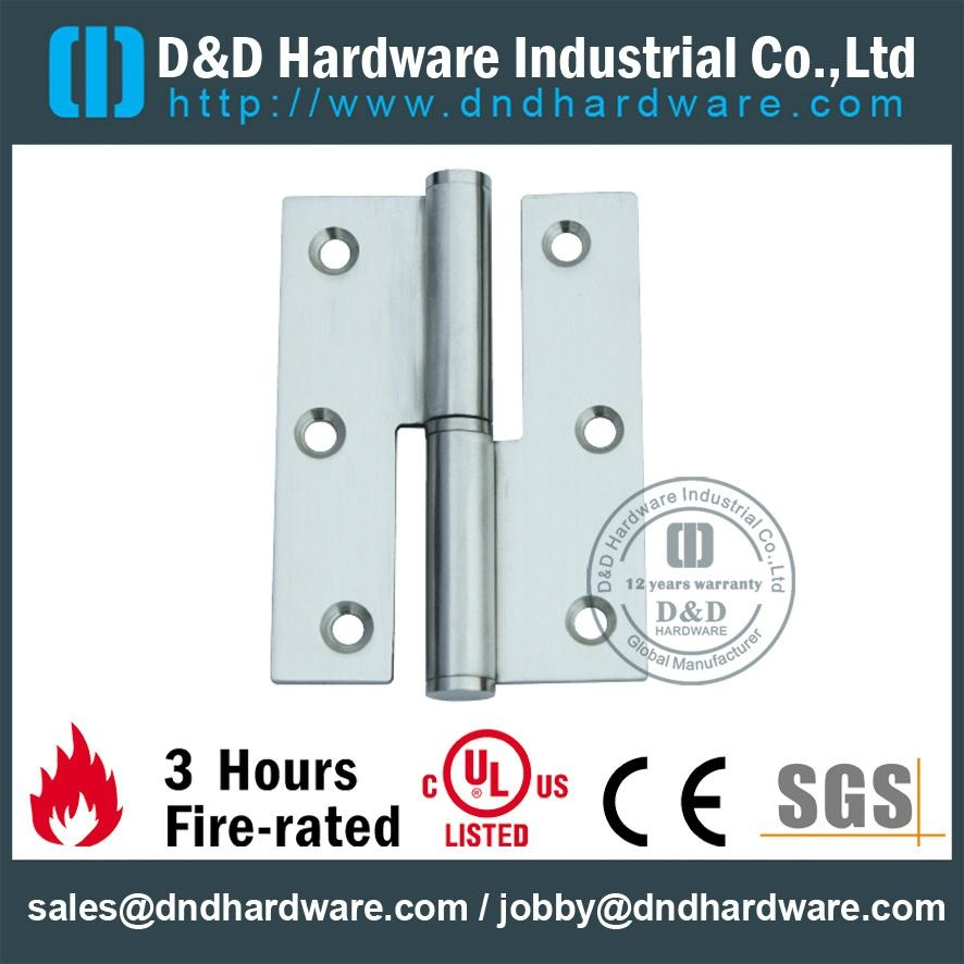 fire-rated lift-off hinge H shape