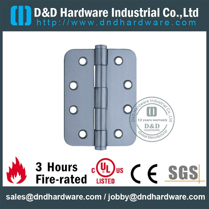 residential s/steel radius hinge fire-rated