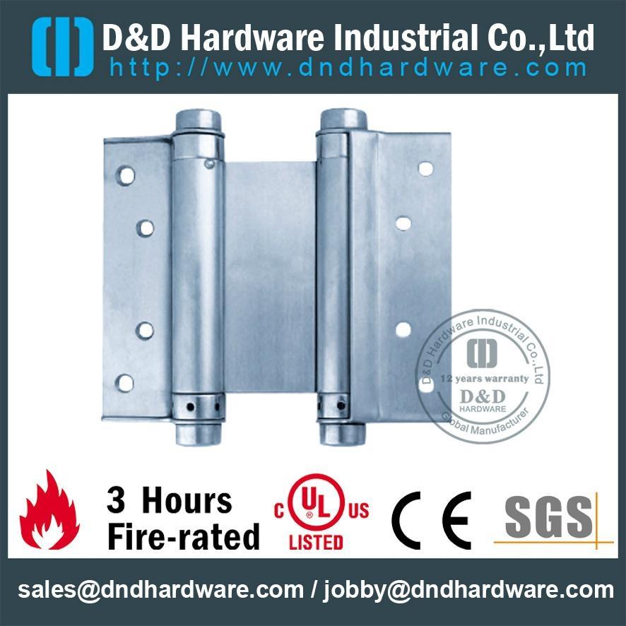 SGS認証不鏽鋼雙彈簧鉸鏈