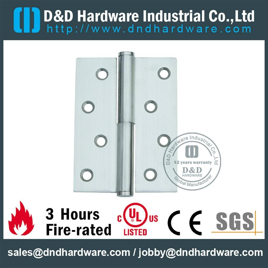 Stainless steel lift-off hinge BHMA Certificate
