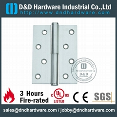 Stainless steel door hinge in CE UL cerfiticate file number R38013