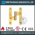 fire-rated solid brass lift-off H hinge