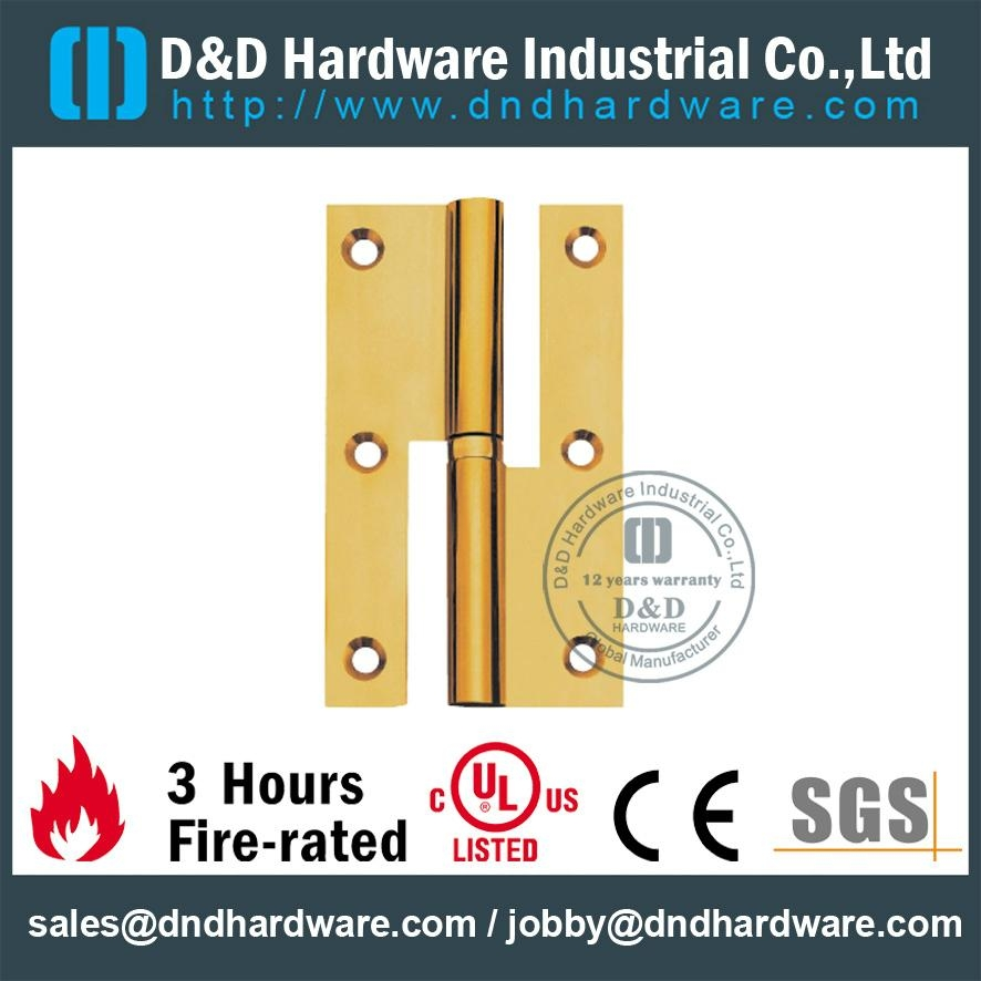 UL Certificate solid brass H hinge