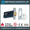 mortise lock  for 8mm spindle,latch turnable