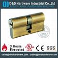 EuroprofileDIN solid brass cylinders