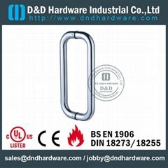 stainless steel door handle brass lever handle UL Certificate