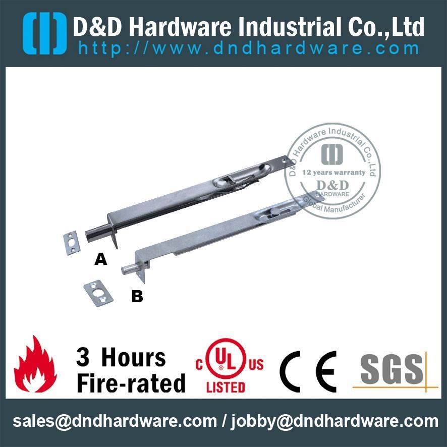 SGS standard s/steel flush bolt