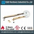 UL CE listed brass flush bolt