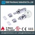 UL CE certificate brass flat bolt