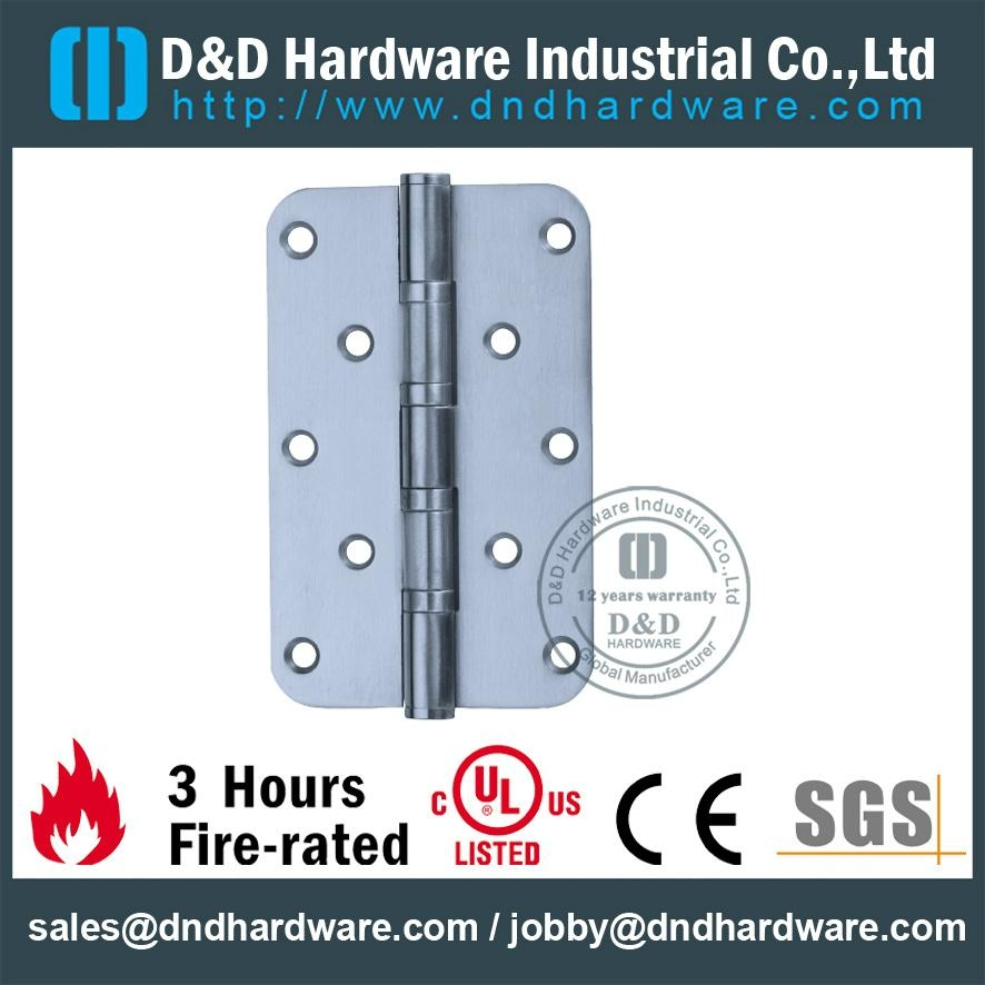 3 hours fire-rated round corner residential hinge