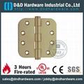 Door hinge with UL fire rate