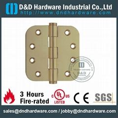 UL CE certificate round corner brass hinge