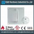 s/steel door handle with plate
