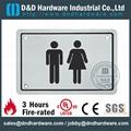 washroom indication plate