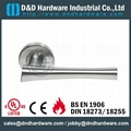 stainless steel door lever handle Dorma