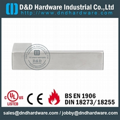 UL CE listed solid lever handle