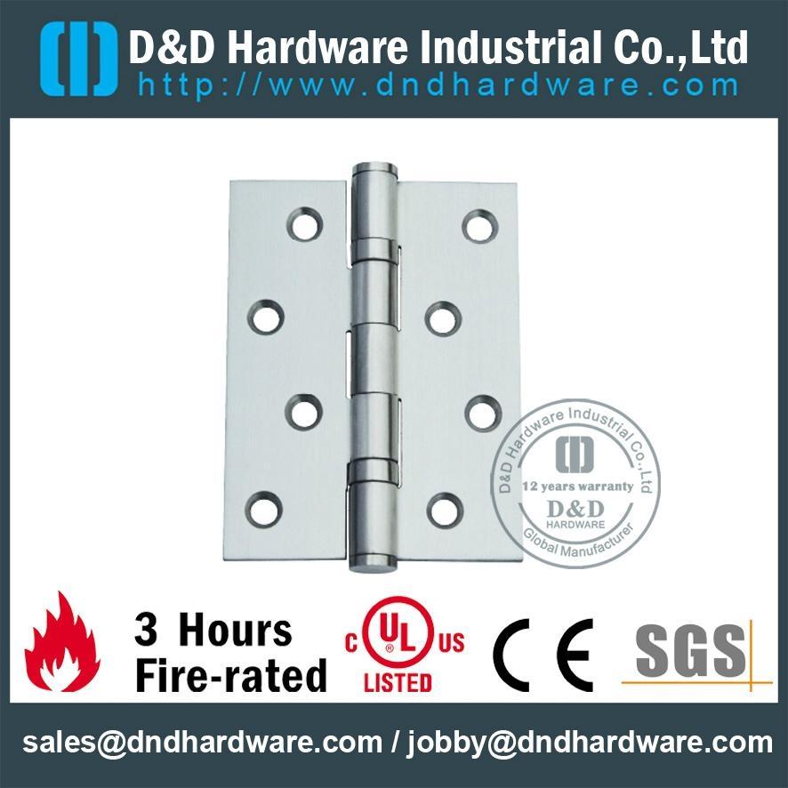 UL listed 2BB s/steel square corner hinge