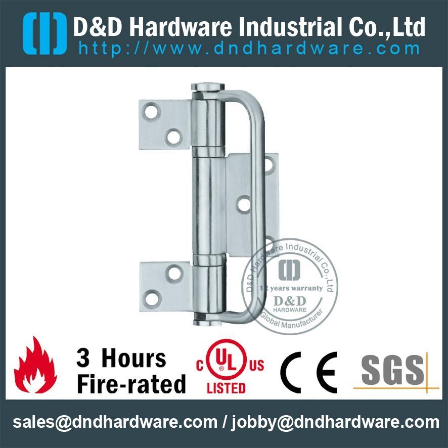 SGS Standard three leaves s/steel hinge