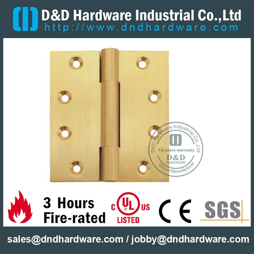 UL CE listed solid brass hinge