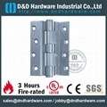 fire rated plain joint crank hinge