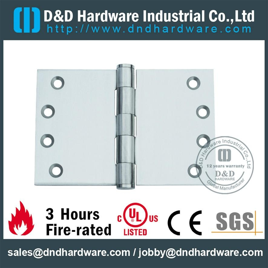fire-rated heavy duty projection hinge